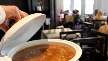 Ritual … shark fin soup.