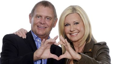 Olivia Newton-John and John Farnham. Publicity shot supplied ahead of their Two Strong Hearts 2015 tour.