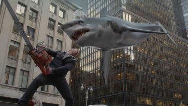 Biting the Big Apple: The sharknado is back.