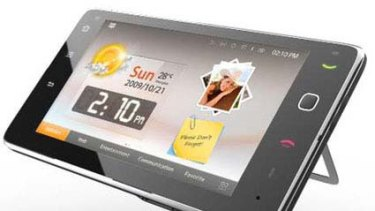 Telstra's T-Touch Tab is believed to be a rebadged version of Huawei's SmaKit S7.