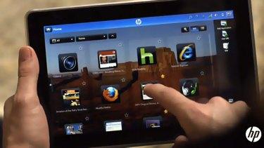 The HP Slate bears an uncanny resemblance to Apple's iPad.