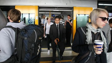 Network upgrade ... Sydney commuters on the Circle Line will be able to use their phones for calls and internet access in tunnels for the first time.