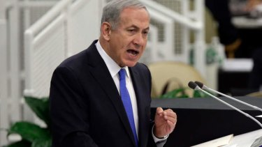 Benjamin Netanyahu is accused of pressing ahead with settlement plans.