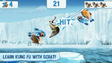 Cold cash: Kids playing Ice Age Village can rank up huge bills for parents.