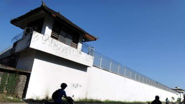 Kerobokan prison in Denpasar on the Indonesian resort island of Bali.