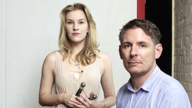 Toil and trouble … Kate Mulvany and Kelly Ryall.