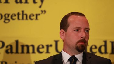 Motoring Enthusiast Party Senator-elect Ricky Muir has joined forces with the Palmer United Party in the Senate.