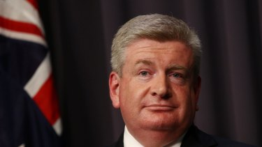 """Communications Minister Mitch Fifield says """"NBN won't cut off its nose to spite its face"""" when it comes to the high fees it charges retail service providers."""