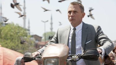 Daniel Craig as James Bond: From being the new guy to embodying a retro toughness.