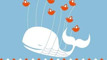 Twitter's famous Fail Whale.