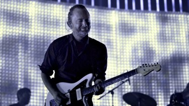 Radio Head frontman Thom Yorke has described the state of the music industry as 'the last desperate fart of a dying corpse'.