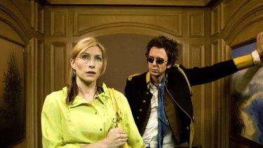 Claudia Karvan and Matt King in <em>Spirited</em>.