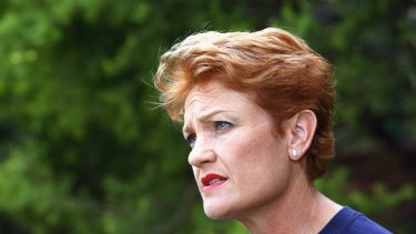 Pauline Hanson  ... failed to win a seat in upper house.