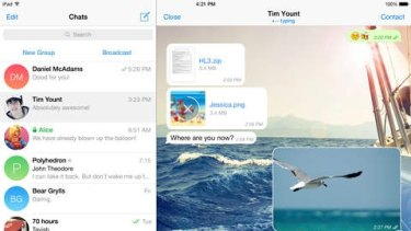 Terrorists are using apps with encryption capabilities, such as Telegram, to communicate.