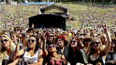 Splendour in the Grass hasn't been such a hot ticket this year.
