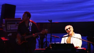 Soul extravaganza ... Donald Fagen's voice wilted under the strain of a two-hour show.