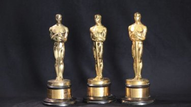 Heading home: Orry-Kelly's Oscars.