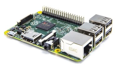 The small but flexible Raspberry Pi, designed to run Linux.