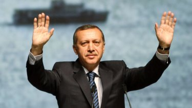 Gaddafi 'chose blood, tears . . . and attacks on his own people' . . . Turkey's Prime Minister Recep Tayyip Erdogan.