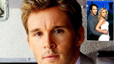 Ryan Kwanten and, inset, his True Blood costars Anna Paquin and Stephen Moyer.