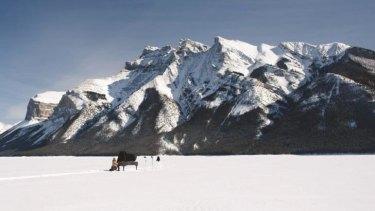 Ragnar Kjartansson's The End - Rocky Mountains (2009) is an arresting image.