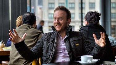 Award-winning Australian actor Adam Zwar.
