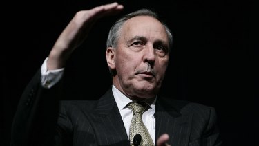 'A Punch and Judy show' ... former prime minister Paul Keating says he wouldn't be caught dead on the ABC's <i>Q&A</i> program.