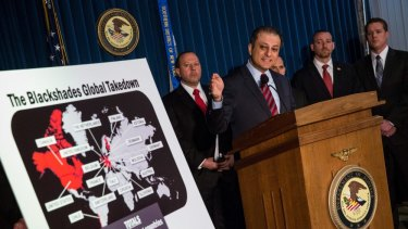 """Frightening form of cybercrime"": US Attorney Preet Bharara."