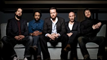 From left: Craig Potter, Pete Turner, Guy Garvey, Richard Jupp and Mark Potter are Elbow.