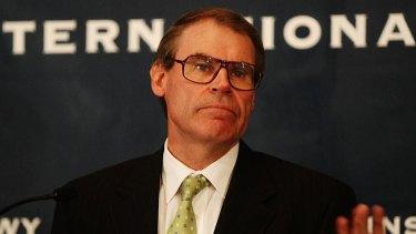 Senator John Faulkner, a former cabinet minister.