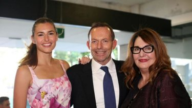 Frances Abbott: the PM's daughter allegedly had her student records accessed by a librarian.