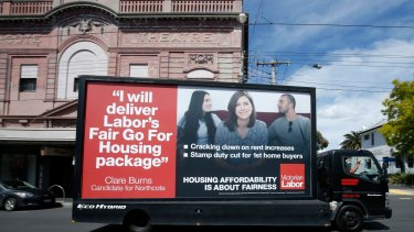 Inner-city moves: Labor's rethink has coincided with this week's Northcote by-election.