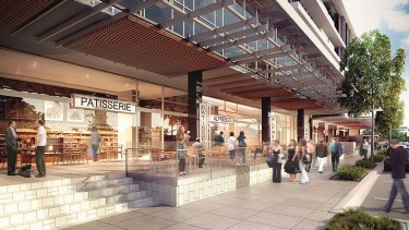 The Park Road dining precinct is set to be extended onto Railway Terrace.