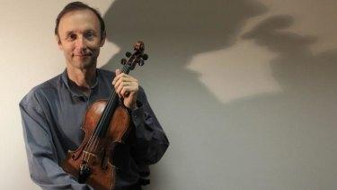 Sydney Symphony violinist Dene Olding.