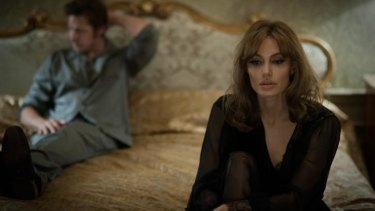 Angelina Jolie Pitt and Brad Pitt star in <i>By the Sea</i>, directed by Jolie Pitt.