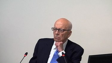 Rupert Murdoch says he doesn't want Fairfax to fold.