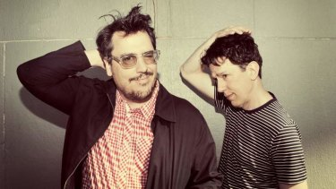 They Might Be Giants' John Flansburgh (left) and John Linnell love the mystery of songs that last only moments.