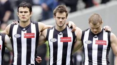 Alan Toovey (centre) with teammates Chris Tarrant and Heah Shaw: side by side no longer?