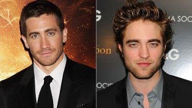 The price of fame ... Jake Gyllenhaal and Robert Pattinson.
