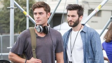 Zac Efron and Wes Bentley in <i>We Are Your Friends</i>.