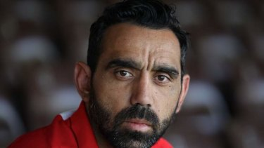 Sydney Swans star Adam Goodes considers politics.