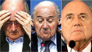 See no evil, hear no evil, speak no evil: President of FIFA Sepp Blatter.