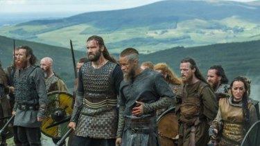 High drama: A scene from <i>Vikings</i>, season 3.