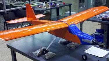 Pictured is the UAV University of Virginia engineering students built entirely from parts from a 3D printer.