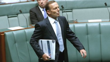 """""""Aboriginal policy has become personal rather than just political"""": Prime Minister Tony Abbott."""