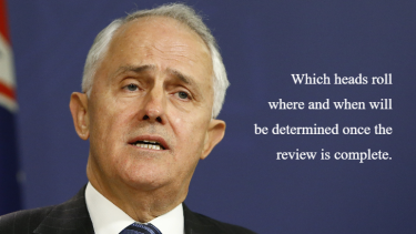Prime Minister Malcolm Turnbull on the day after the 2016 census.