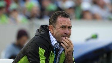 Raiders coach Ricky Stuart has put his misfiring forwards on notice.