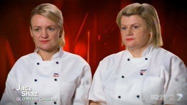 In the zone: Jac and Shaz share their thoughts on their grand final dishes.