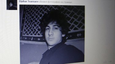 Social ... Djohar Tsarnaev, believed to be Dzhokhar Tsarnaev, seen on his page of Russian social networking site Vkontakte (VK)