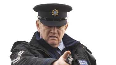 ''A carrot-headed monolith of a man'' … Brendan Gleeson is Sergeant Gerry Boyle, a crooked cop who may be the only uncorrupted Garda in the force.